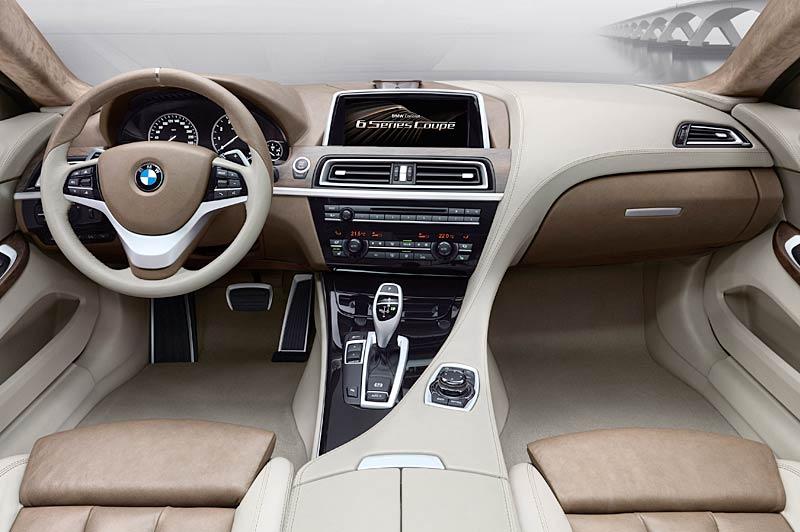 BMW 6 Coupé: Nová šestka nejprve jako koncept: - fotka 1