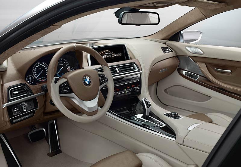 BMW 6 Coupé: Nová šestka nejprve jako koncept: - fotka 2