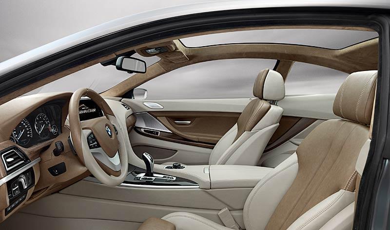 BMW 6 Coupé: Nová šestka nejprve jako koncept: - fotka 3
