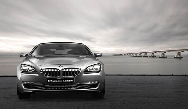 BMW 6 Coupé: Nová šestka nejprve jako koncept: - fotka 9