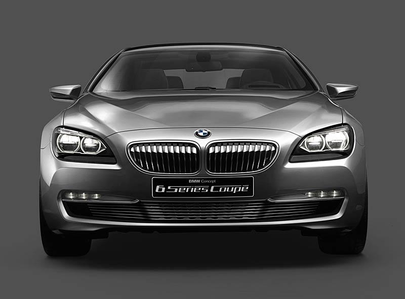 BMW 6 Coupé: Nová šestka nejprve jako koncept: - fotka 10
