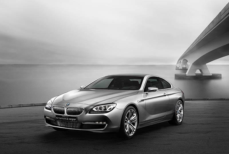 BMW 6 Coupé: Nová šestka nejprve jako koncept: - fotka 11
