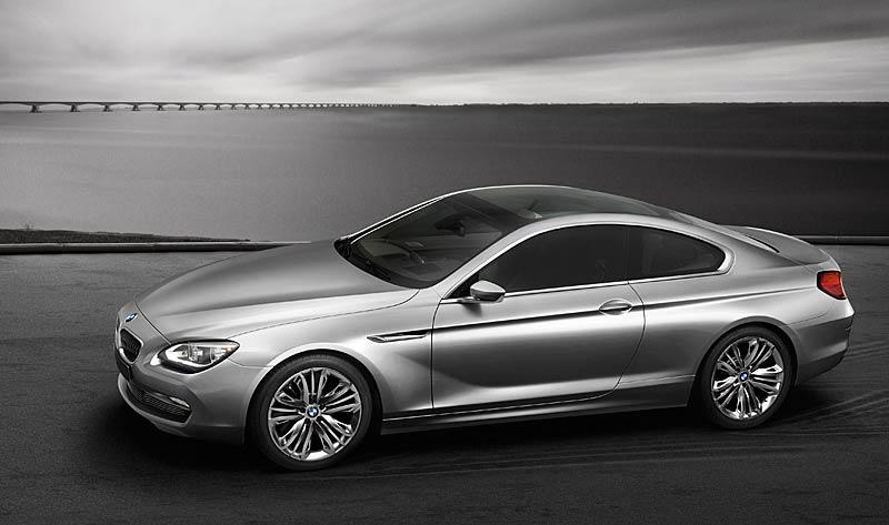 BMW 6 Coupé: Nová šestka nejprve jako koncept: - fotka 12