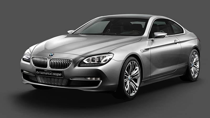 BMW 6 Coupé: Nová šestka nejprve jako koncept: - fotka 13