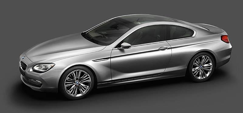 BMW 6 Coupé: Nová šestka nejprve jako koncept: - fotka 14