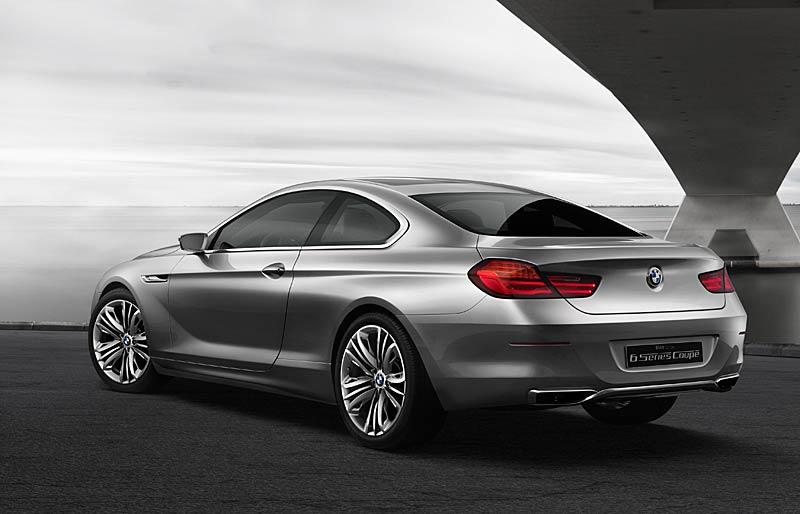 BMW 6 Coupé: Nová šestka nejprve jako koncept: - fotka 17