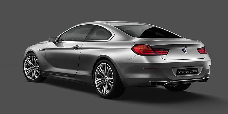 BMW 6 Coupé: Nová šestka nejprve jako koncept: - fotka 18
