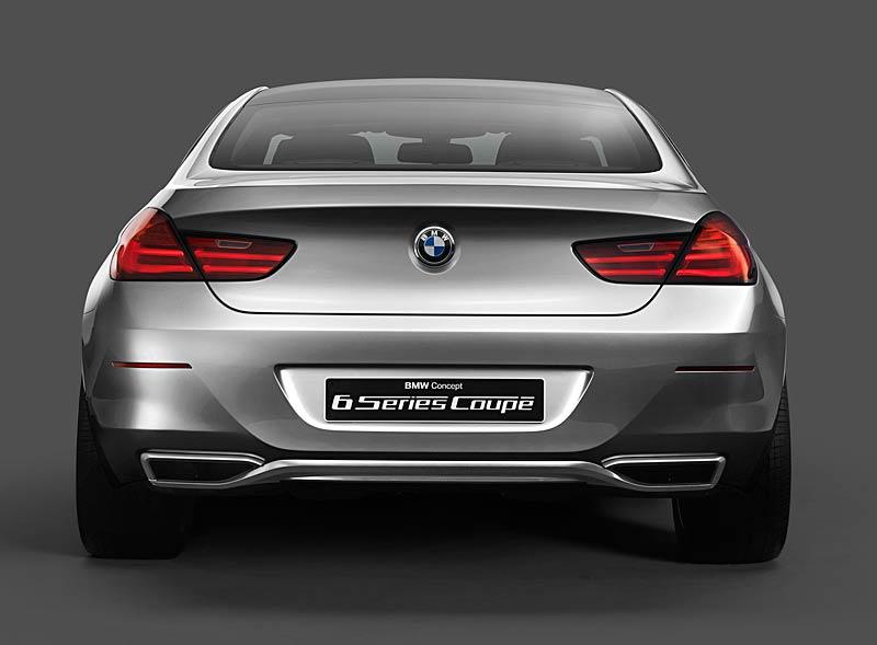 BMW 6 Coupé: Nová šestka nejprve jako koncept: - fotka 20