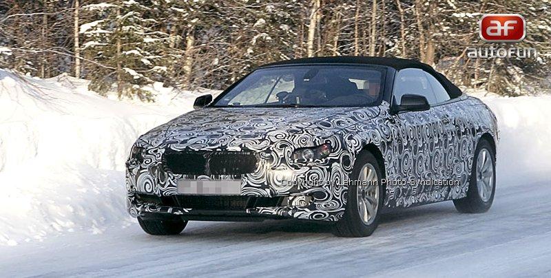 Spy Photos: BMW 6 Convertible: - fotka 1