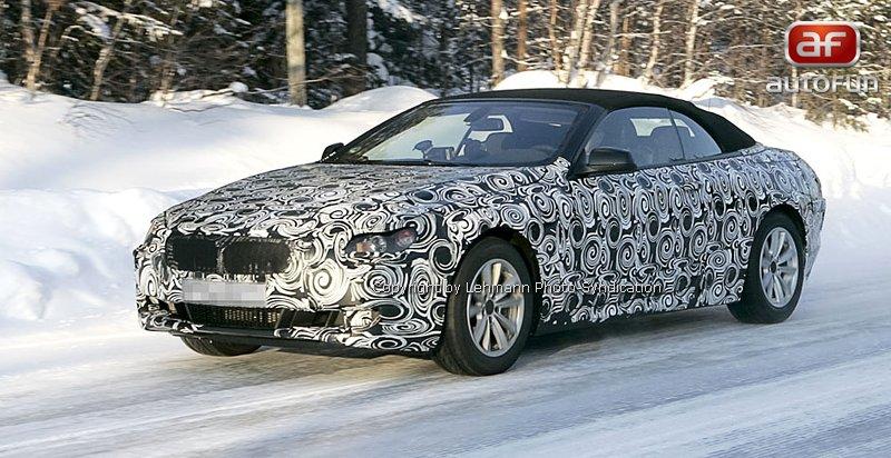 Spy Photos: BMW 6 Convertible: - fotka 2
