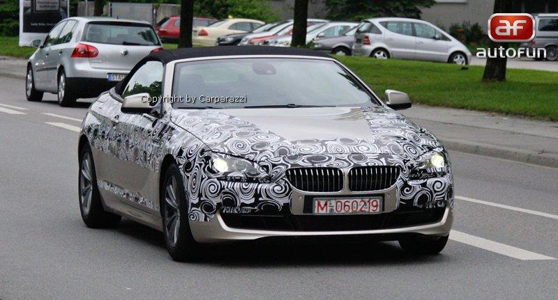 Spy Photos: BMW 6 Convertible: - fotka 5