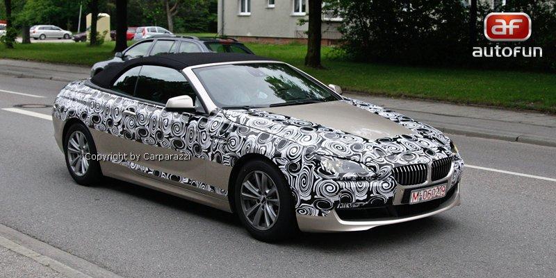 Spy Photos: BMW 6 Convertible: - fotka 6