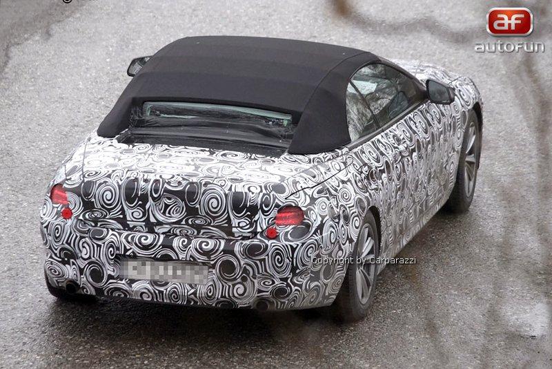 Spy Photos: BMW 6 Convertible: - fotka 11