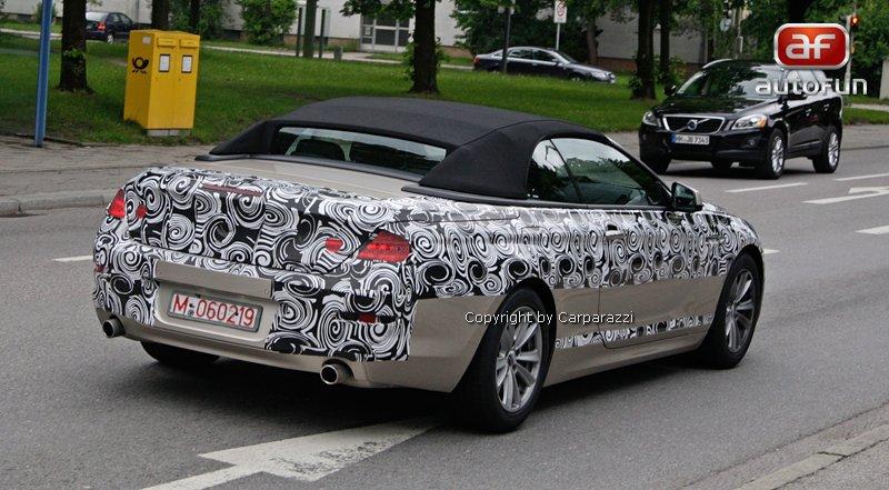 Spy Photos: BMW 6 Convertible: - fotka 13
