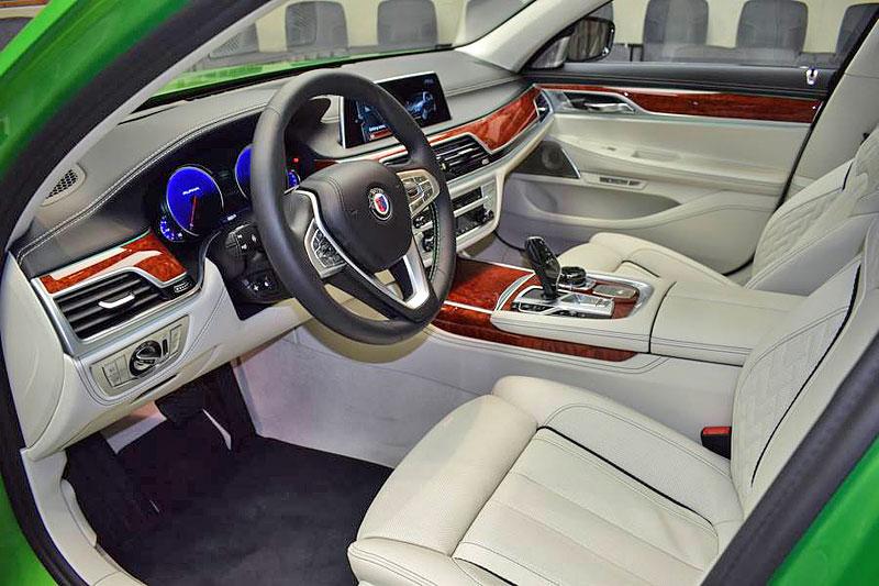 Alpina B7: Sluší decentnímu sedanu jedovatě zelená, nebo je to už příliš?: - fotka 1