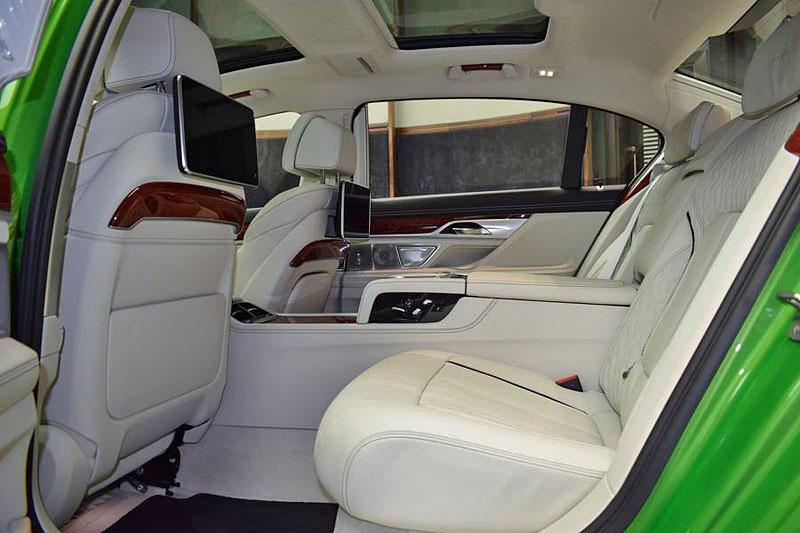 Alpina B7: Sluší decentnímu sedanu jedovatě zelená, nebo je to už příliš?: - fotka 2