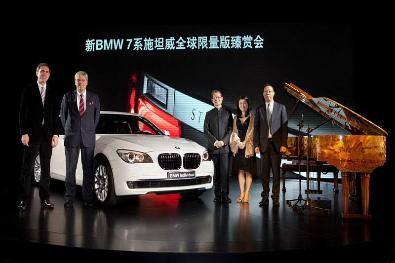 BMW 7: Steinway & Sons i pro Čínu: - fotka 13