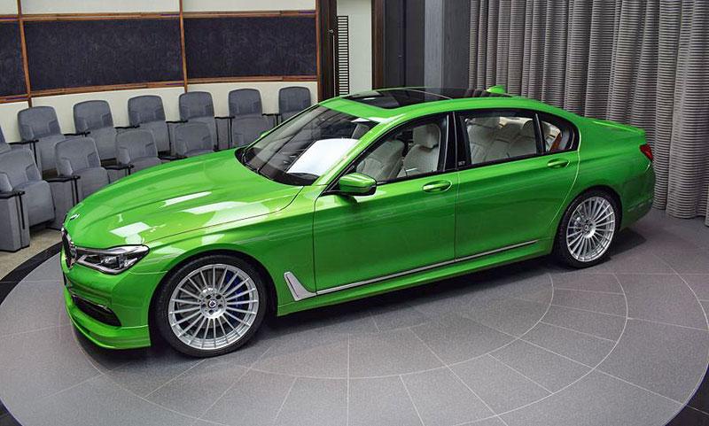 Alpina B7: Sluší decentnímu sedanu jedovatě zelená, nebo je to už příliš?: - fotka 5