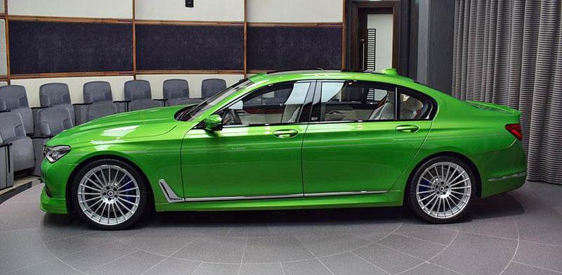 Alpina B7: Sluší decentnímu sedanu jedovatě zelená, nebo je to už příliš?: - fotka 7