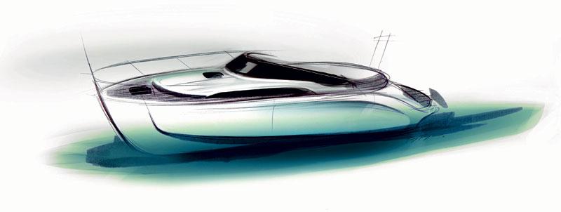 Bavaria Deep Blue 46: jachta od BMW Designworks USA: - fotka 4