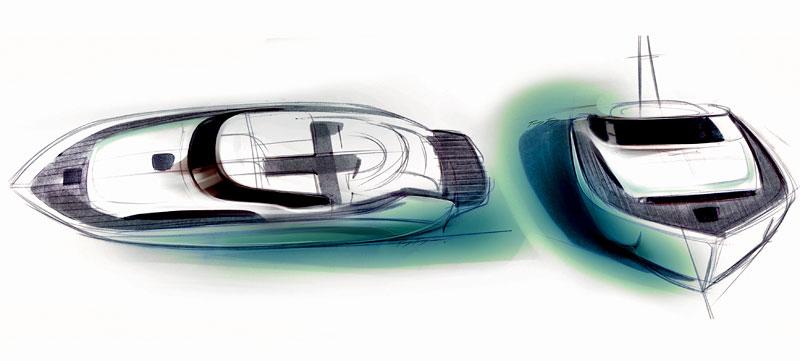 Bavaria Deep Blue 46: jachta od BMW Designworks USA: - fotka 5