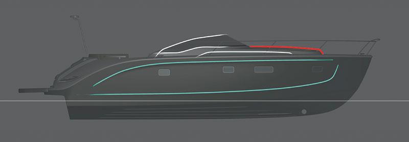 Bavaria Deep Blue 46: jachta od BMW Designworks USA: - fotka 7