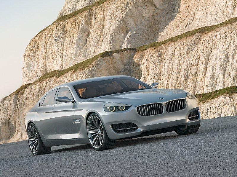Projekt supersedanu BMW CS zastaven: - fotka 12