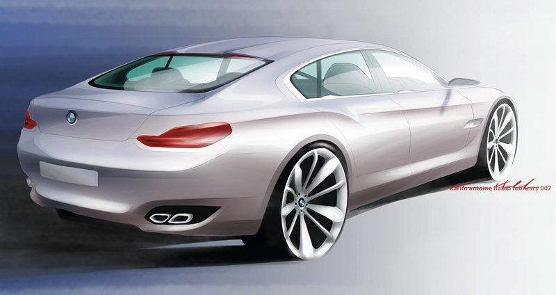 Projekt supersedanu BMW CS zastaven: - fotka 20