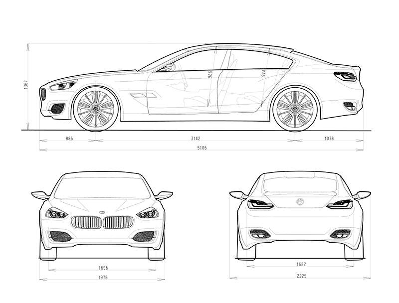 Projekt supersedanu BMW CS zastaven: - fotka 23