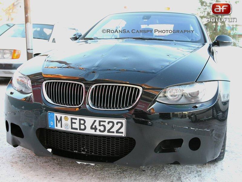 Spy Photos: BMW M3 Coupe-Cabrio – Ladění otevřené symfonie: - fotka 1