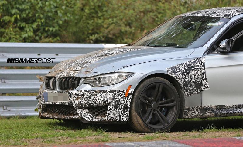 Nové BMW M3 vs. svodidla na Ringu - 0:1: - fotka 5