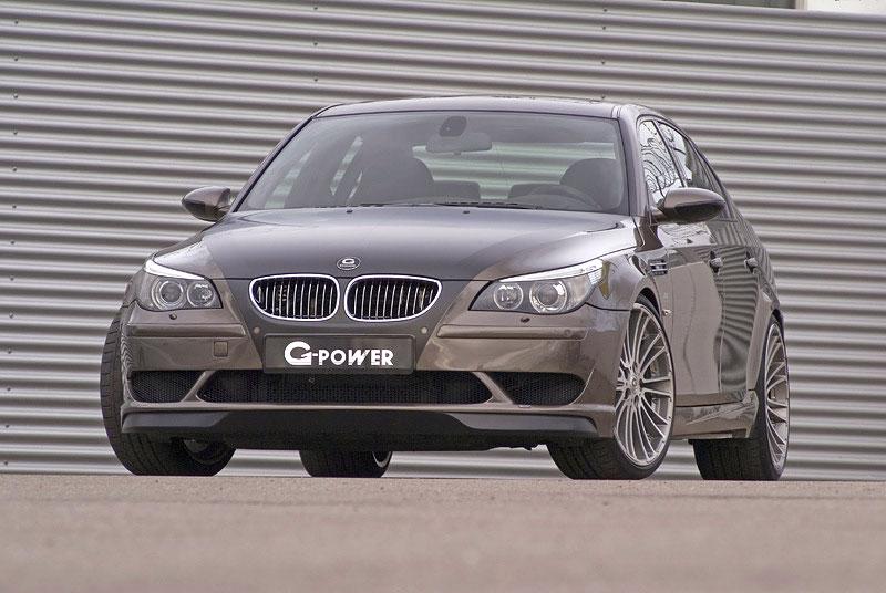 BMW M5 G-Power Hurricane: Závan přírodních živlů: - fotka 3