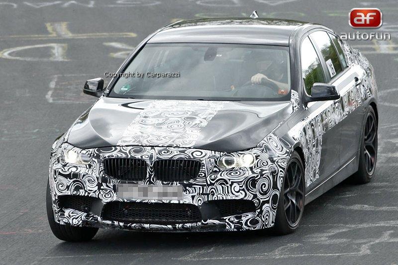 Spy Photos: BMW M5: - fotka 1
