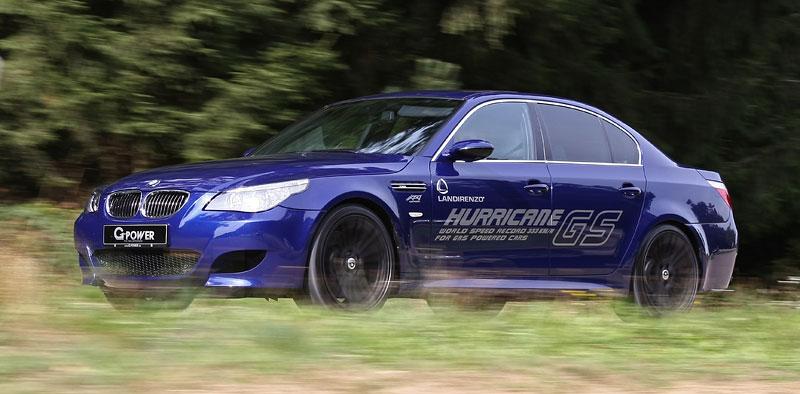 G-Power Hurricane GS: nejrychlejší LPG auto světa: - fotka 3