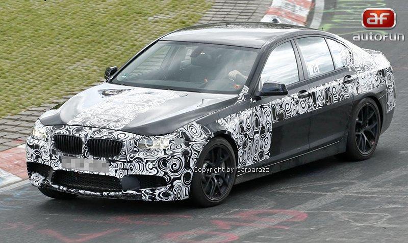 Spy Photos: BMW M5: - fotka 3