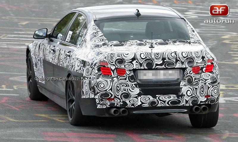 Spy Photos: BMW M5: - fotka 5