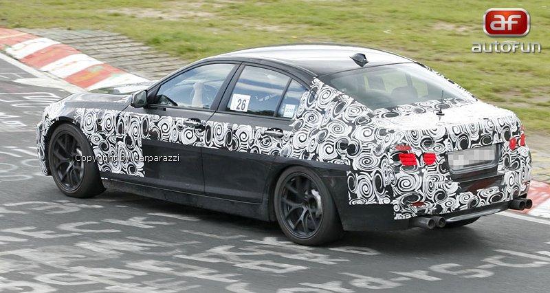 Spy Photos: BMW M5: - fotka 6