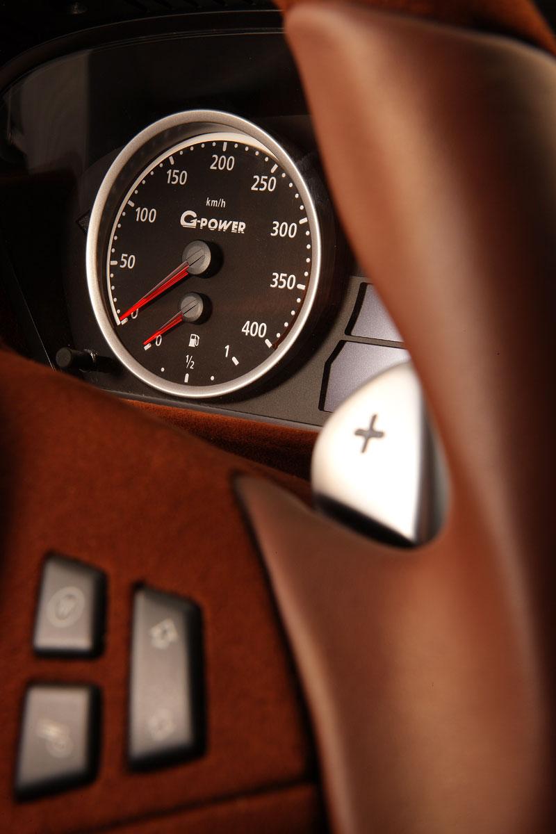 G-Power Hurricane RS Touring: Přiostření BMW M5 E61 Touring: - fotka 3