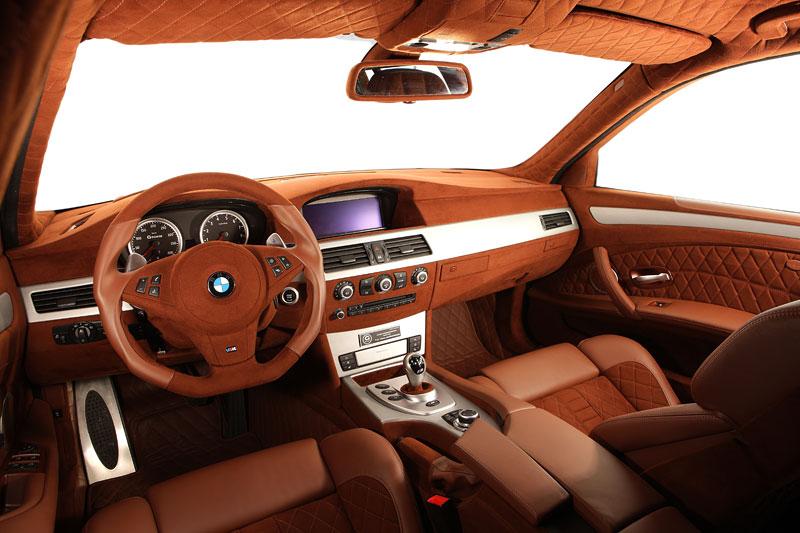 G-Power Hurricane RS Touring: Přiostření BMW M5 E61 Touring: - fotka 4