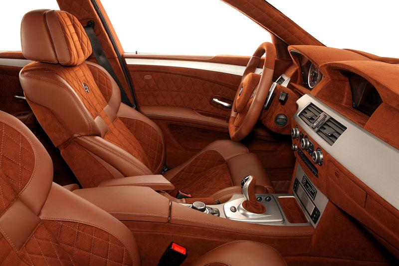 G-Power Hurricane RS Touring: Přiostření BMW M5 E61 Touring: - fotka 5