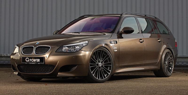 G-Power Hurricane RS Touring: Přiostření BMW M5 E61 Touring: - fotka 11