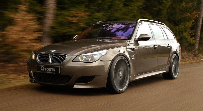 G-Power Hurricane RS Touring: Přiostření BMW M5 E61 Touring: - fotka 12