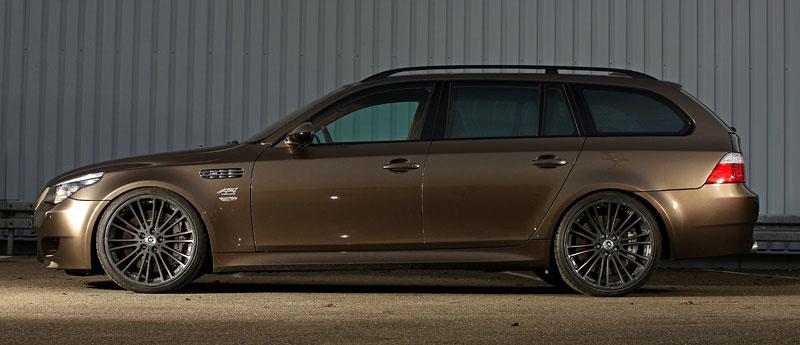 G-Power Hurricane RS Touring: Přiostření BMW M5 E61 Touring: - fotka 13