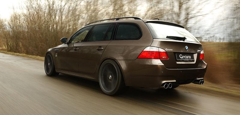 G-Power Hurricane RS Touring: Přiostření BMW M5 E61 Touring: - fotka 15