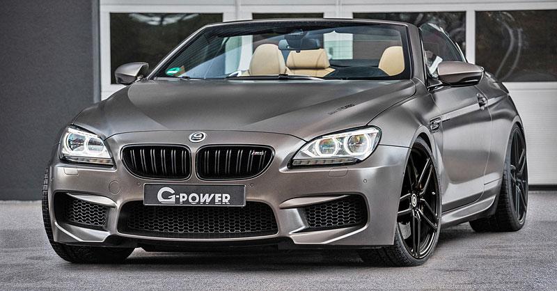 G-Power ladí BMW M6 Cabrio na rovných 800 koní (+ video): - fotka 1