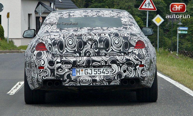 Spy Photos: BMW M6 bude muset vystačit s osmiválcem: - fotka 5