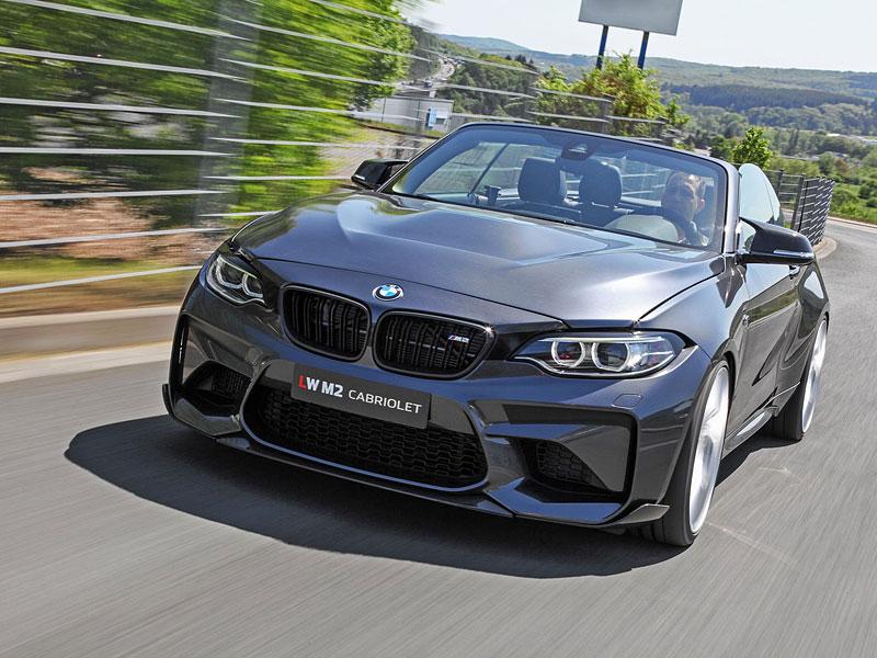 Lightweight Performance nabízí vlastní BMW M2 Cabrio: - fotka 13