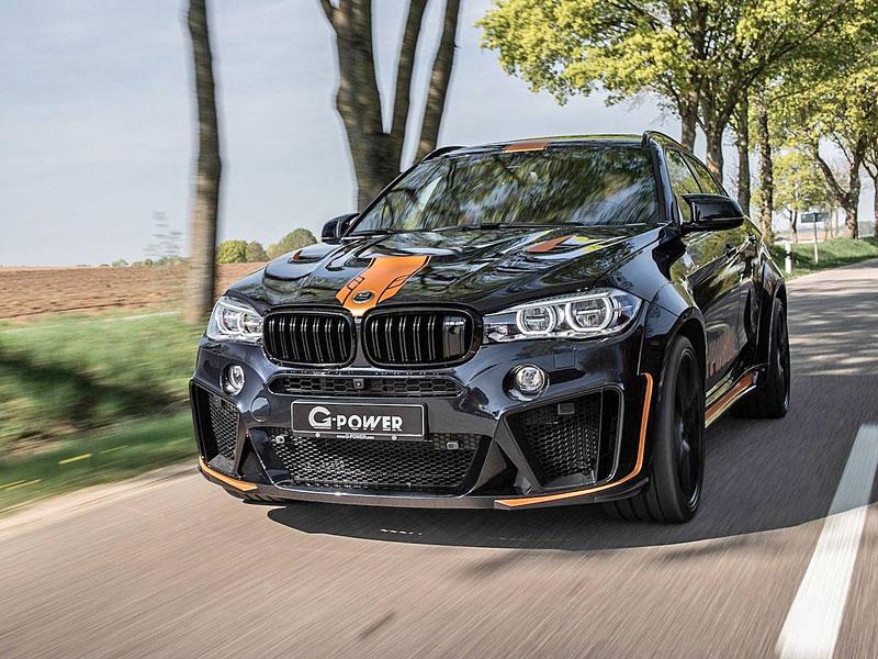 G-Power proměňuje BMW X6 M v Typhoon: - fotka 2
