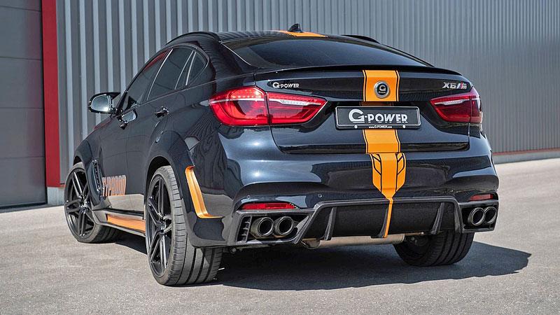 G-Power proměňuje BMW X6 M v Typhoon: - fotka 6