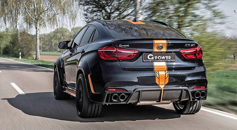 G-Power proměňuje BMW X6 M v Typhoon: - fotka 7